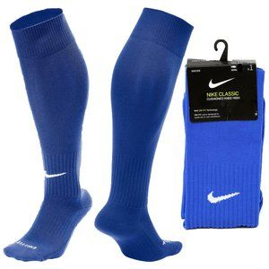 Nike Knee High Over The Calf Soccer Socks Blue OTC